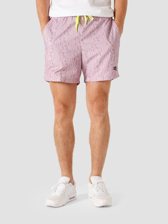 Nike NSW Festival Woven Short Iced Lilac Volt Black CT9929-512