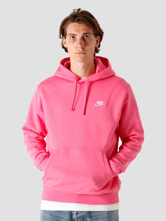 Nike Nsw Club Hoodie Bb Pinksicle Pinksicle White BV2654-684