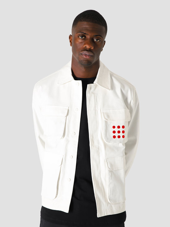The New Originals Multipocket Jacket White Red