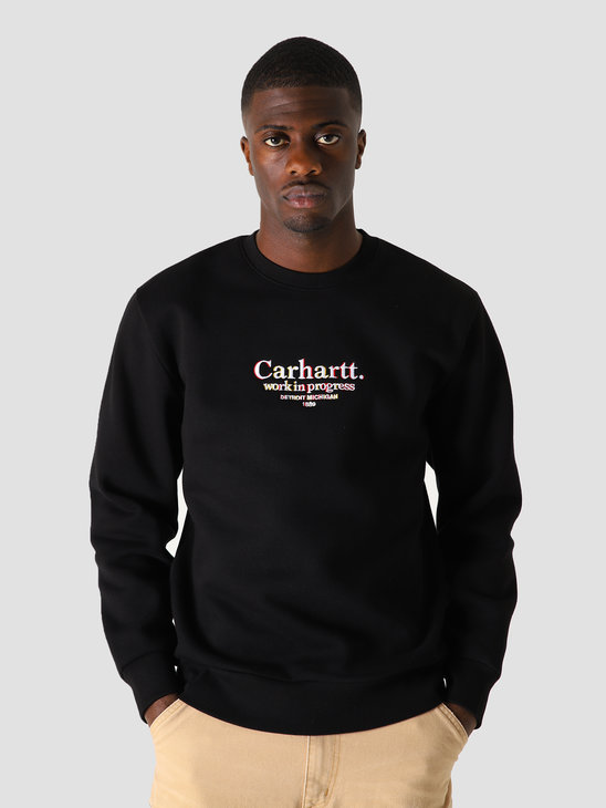 Carhartt WIP Commission Sweat Black I028390-8900