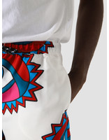by Parra by Parra Eyes Open Shorts White 44120
