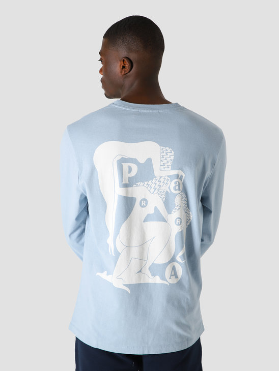 by Parra Histoire Long Sleeve Dusty Blue 44060
