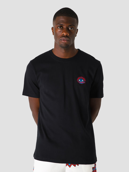by Parra Open Eye T-Shirt Black 44040
