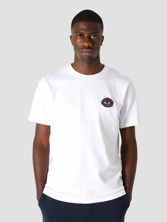 by Parra Open Eye T-Shirt White 44030