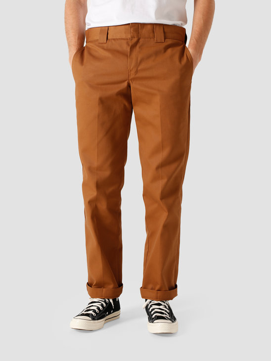 Dickies Slim Straight Work Pant Brown Duck DK0WP873BD01