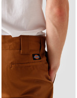 Dickies Dickies Work Pant Slim Straight Brown Duck WP873