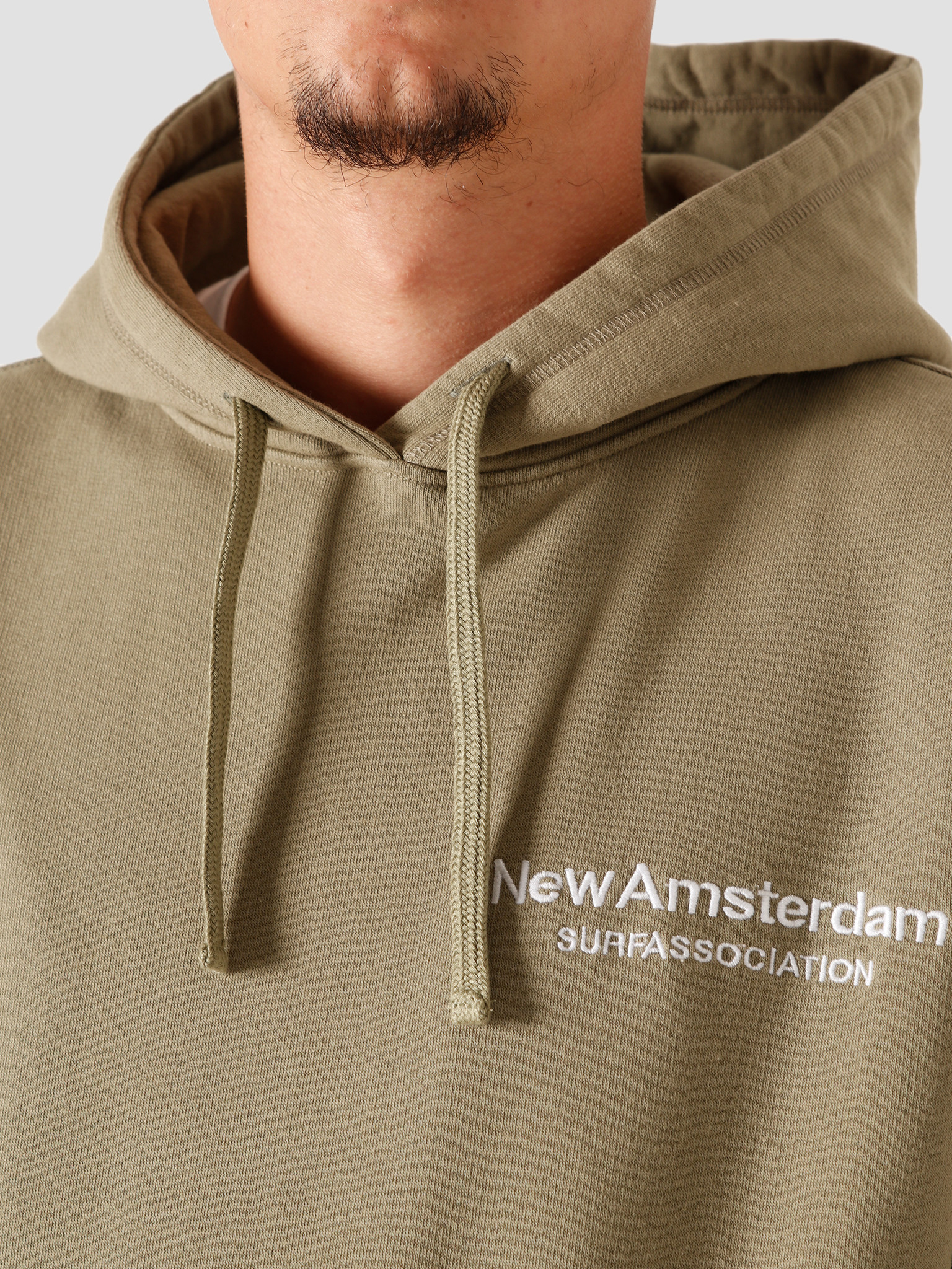 New Amsterdam Surf association New Amsterdam Surf association Logo Hoodie Aloe 2020067