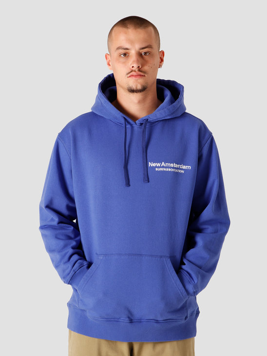 New Amsterdam Surf association Logo Hoodie Royal 2020039