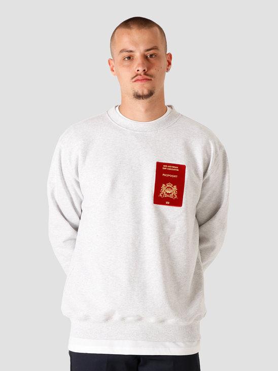 New Amsterdam Surf association Customs Sweater Ash 2020037