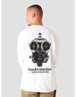 New Amsterdam Surf association New Amsterdam Surf association Methane Longsleeve White 2020036