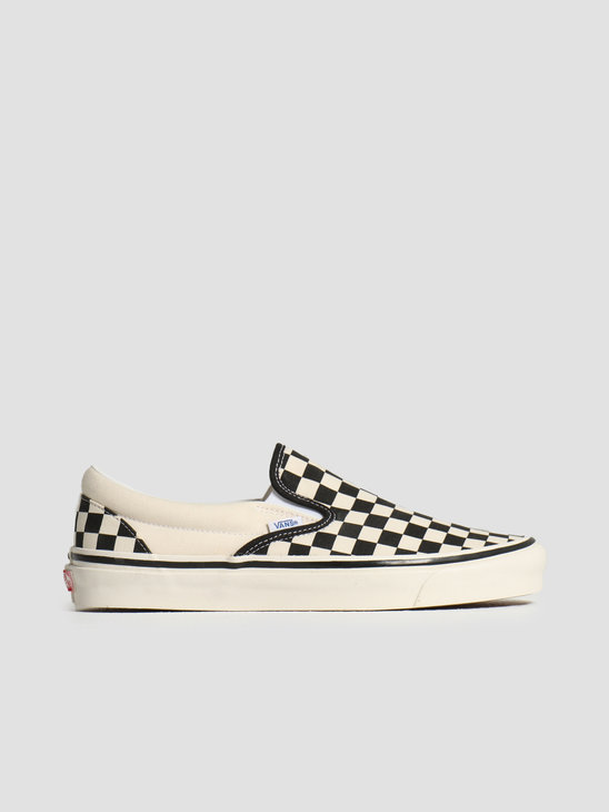 Vans UA Classic Slip-On 98 DX Checkerboard Black White VN0A3JEXPU11