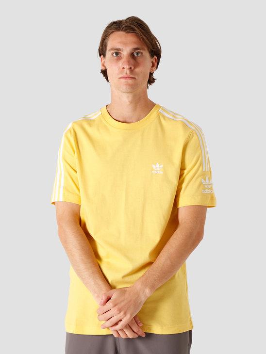 adidas Tech T-Shirt Core Yellow FM3812