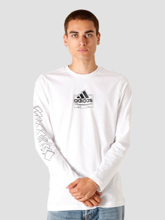 adidas M CST LongsleeveLG White GD5927