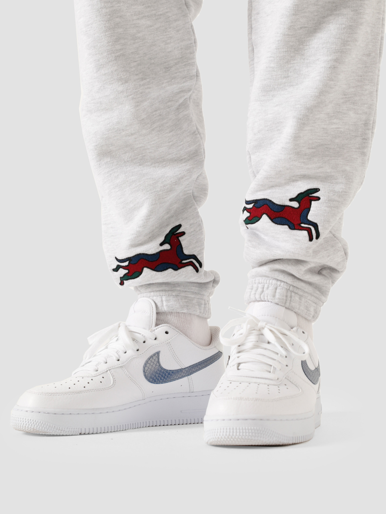 by Parra by Parra Jumping Fox Sweat Pants Ash 44100