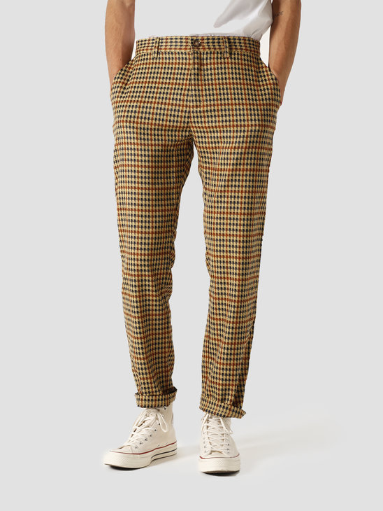 The New Originals Latte Harris Trousers Brown