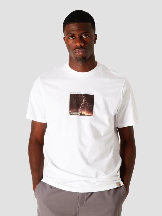 Carhartt WIP Thunderbolt T-Shirt White I028505-200