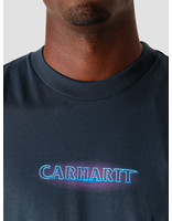 Carhartt WIP Carhartt WIP Neon Script T-Shirt Admiral I028477-0