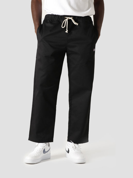 Champion Straight Hem Pants Black 215330