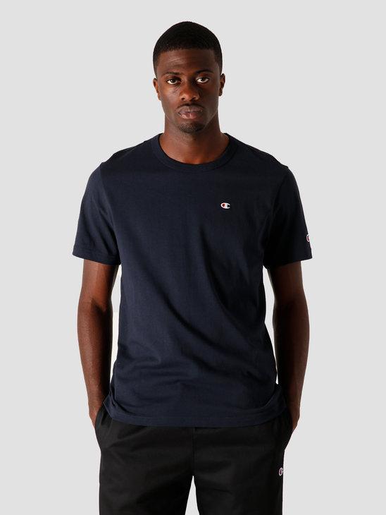 Champion Crewneck T-Shirt Navy 214674