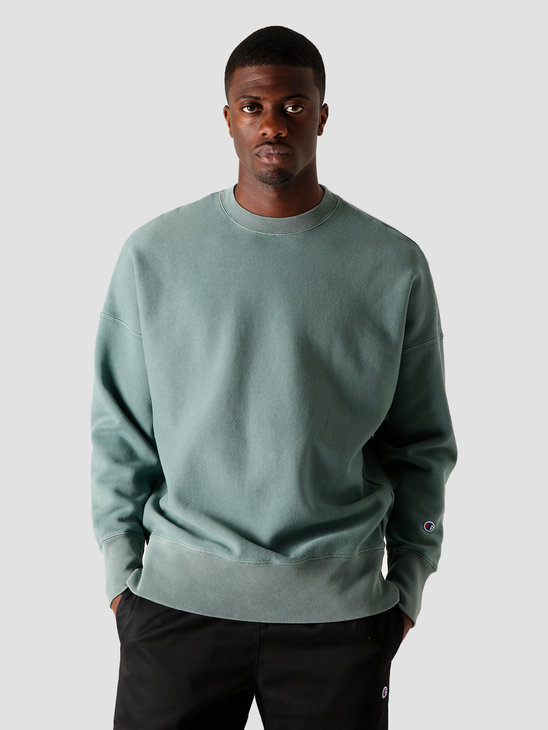 Champion Crewneck Sweatshirt Mallard Green 214924