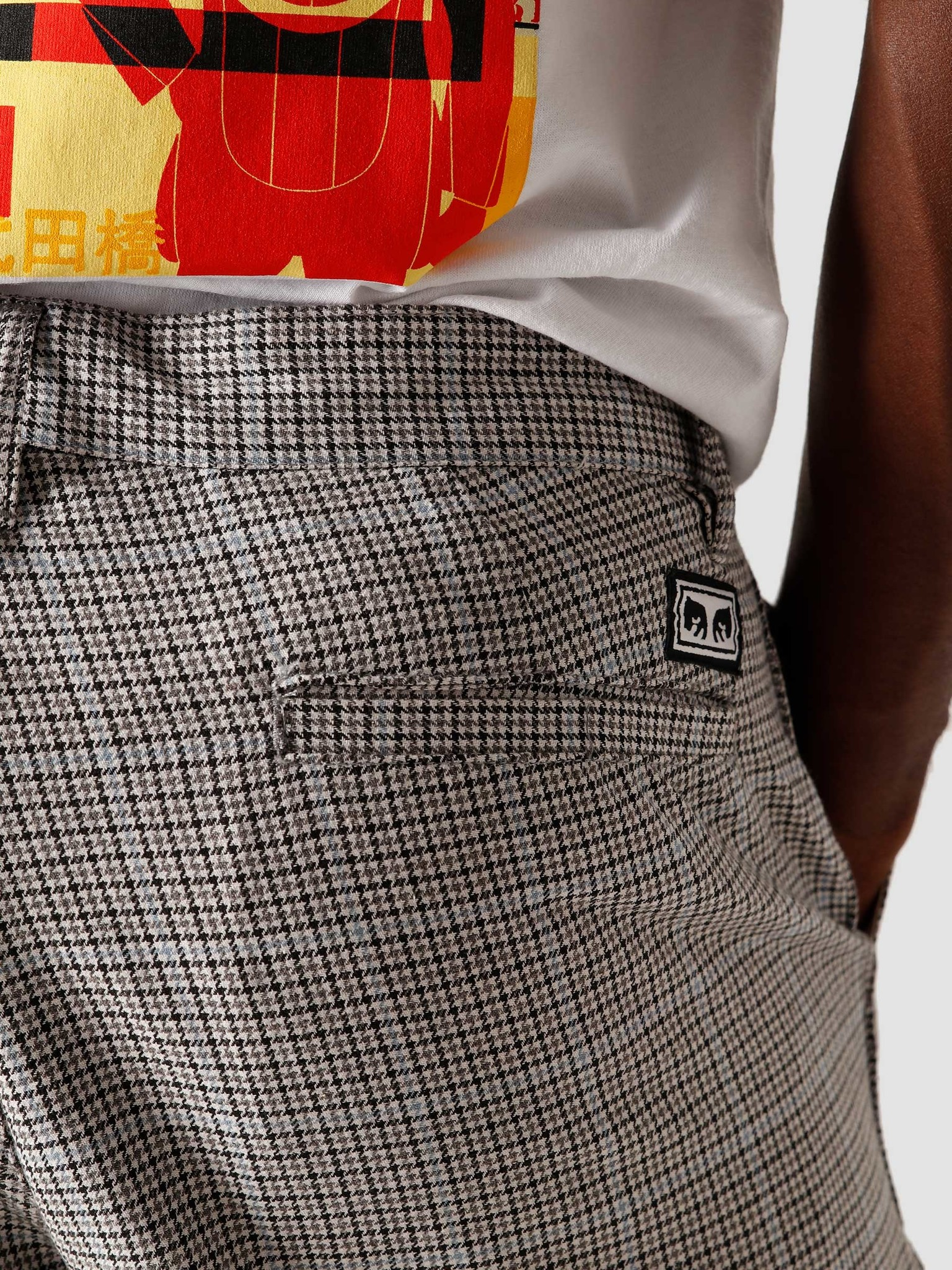 Obey Obey Hardwork Yarn Dyed Pant Sky Multi 142020163SKY