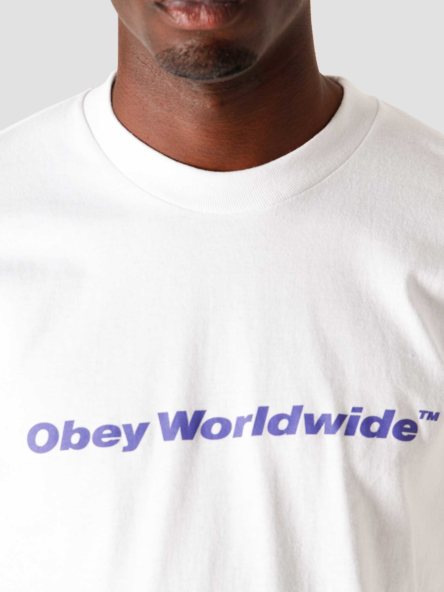 Obey Obey Worldwide Classic T-Shirt White 165262370WHT