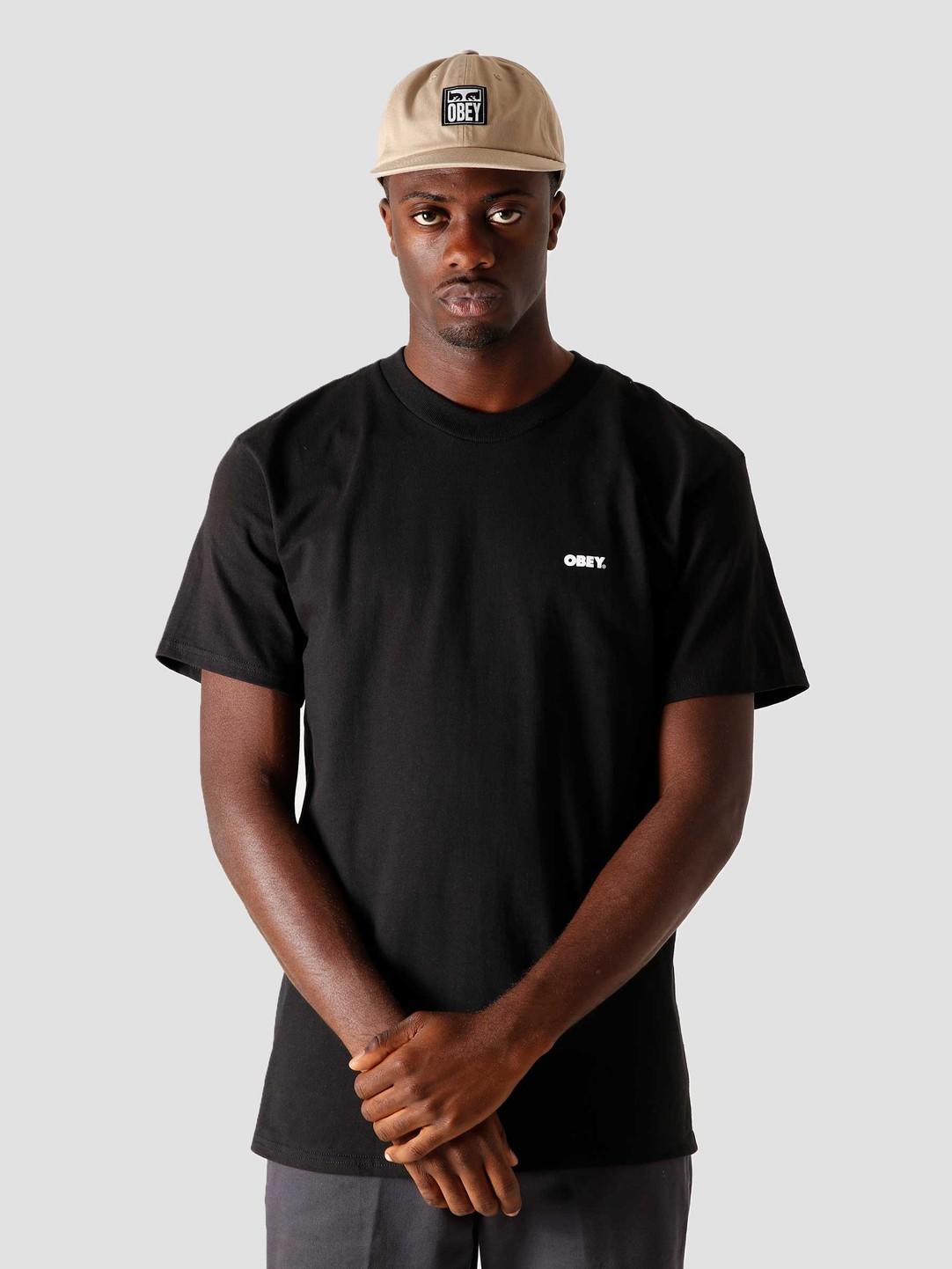 Obey Obey Power & Equality Classic T-Shirt Black 165262397BLK