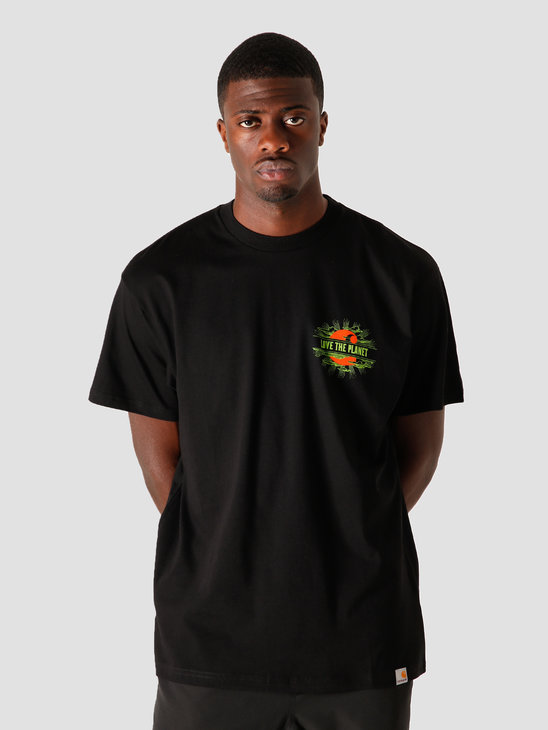 Carhartt WIP Carhartt Love Planet T-S Black I028497-8900