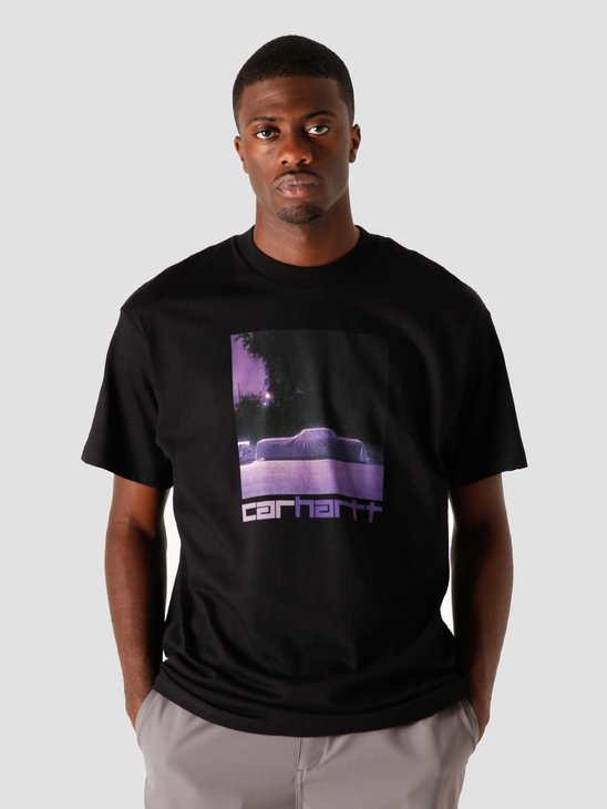 Carhartt WIP Purple Car T-Shirt Black I028492-8900