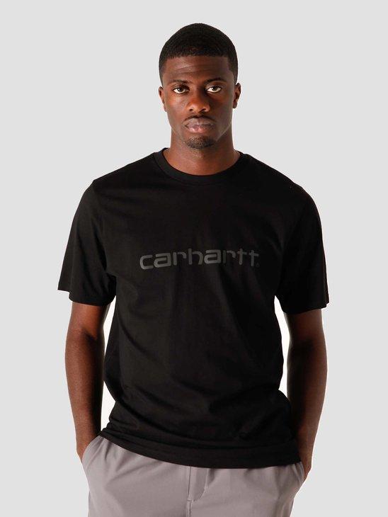 Carhartt WIP Script T-Shirt Black Reflective Black I023803-8994