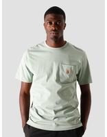 Carhartt WIP Carhartt WIP U Pocket T-Shirt Frosted Green I022091-0F300