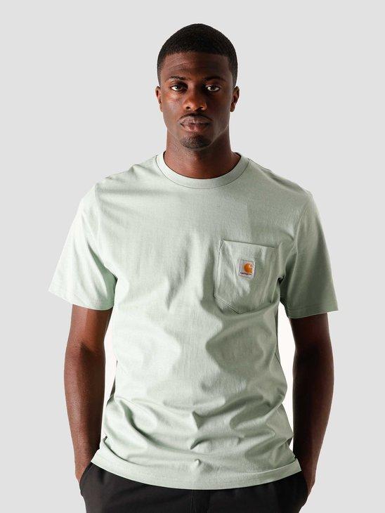 Carhartt WIP U Pocket T-Shirt Frosted Green I022091-0F300