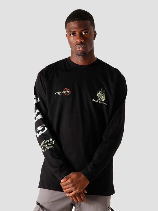 Carhartt WIP Longsleeve Carhartt Race Play T-Shirt Black I028499-8900