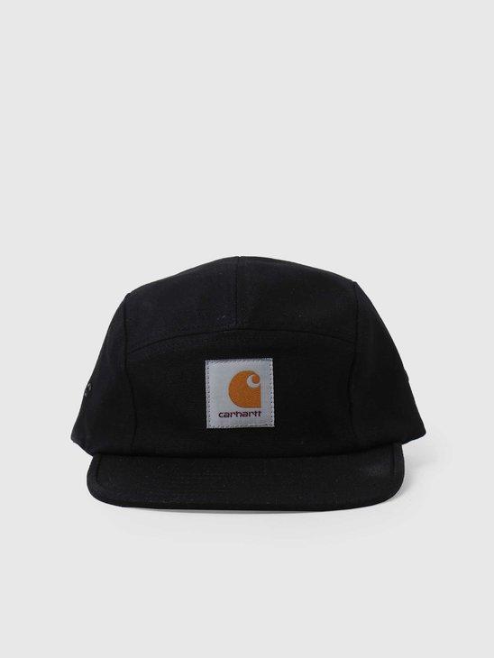 Carhartt WIP Backley Cap Black I016607
