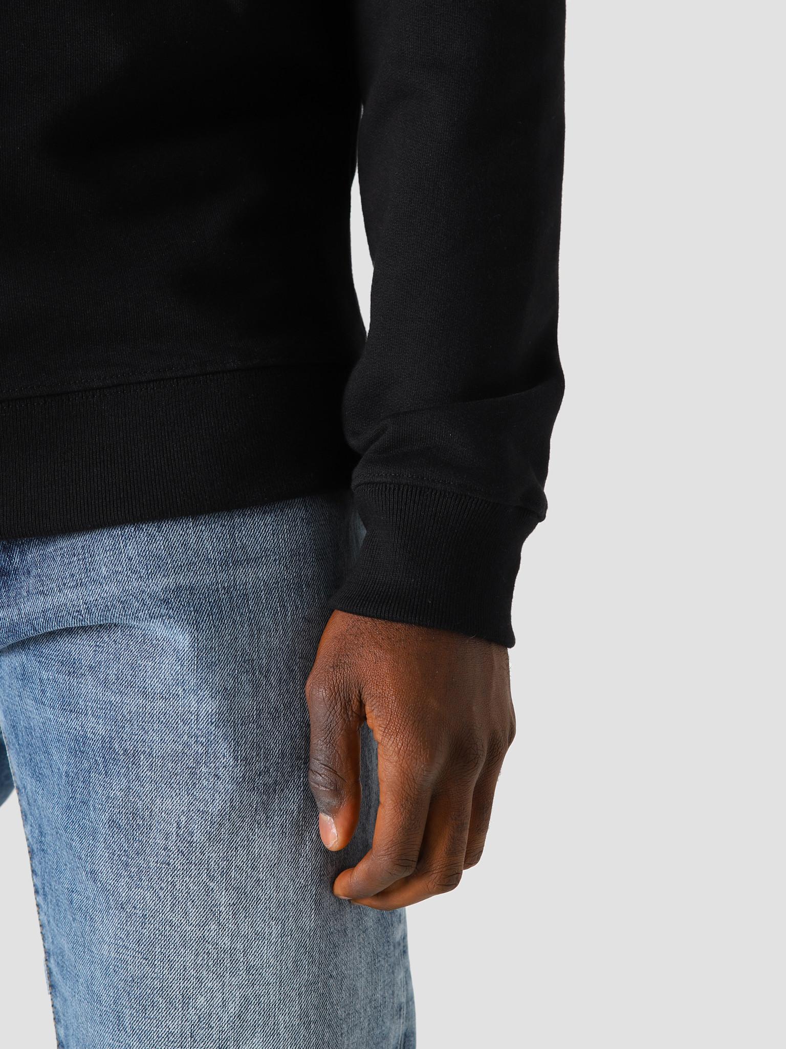 FRESHCOTTON FreshCotton Chest Logo Sweater Black