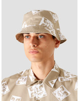 Obey Obey x Dickies Reversible Bucket Hat Khaki 100520040KHA