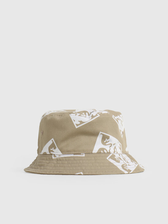 Obey x Dickies Reversible Bucket Hat Khaki 100520040KHA