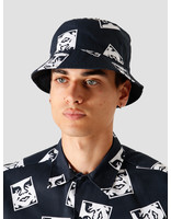 Obey Obey x Dickies Reversible Bucket Hat Dark Navy 100520040DNV