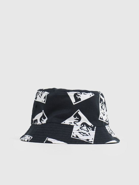 Obey x Dickies Reversible Bucket Hat Dark Navy 100520040DNV