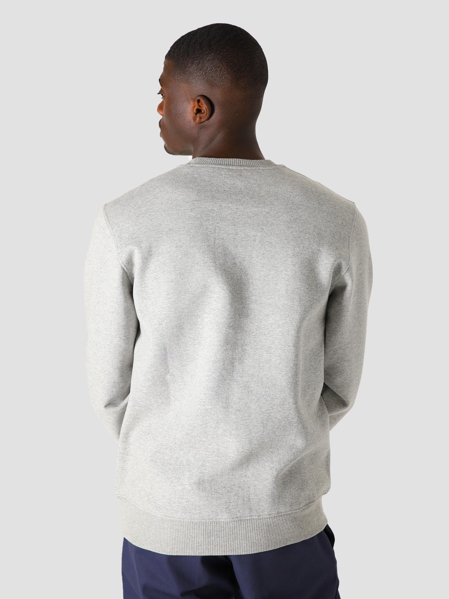 Obey Obey x Dickies Heavyweight Crewneck Sweater Grey Melange 112480087GYM