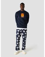 Obey Obey x Dickies Heavyweight Crewneck Sweater Dark Navy 112480087DNV