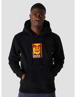 Obey Obey x Dickies Heavyweight Hoodie Black 112470118BLK