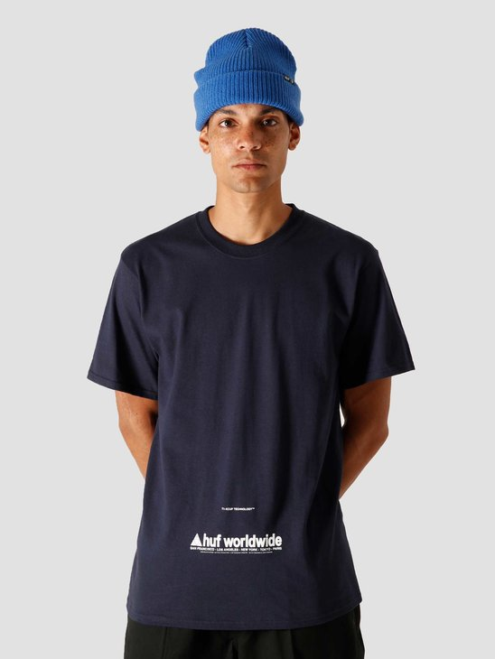 HUF Taking Control T-Shirt French Navy TS01178-FRNVY