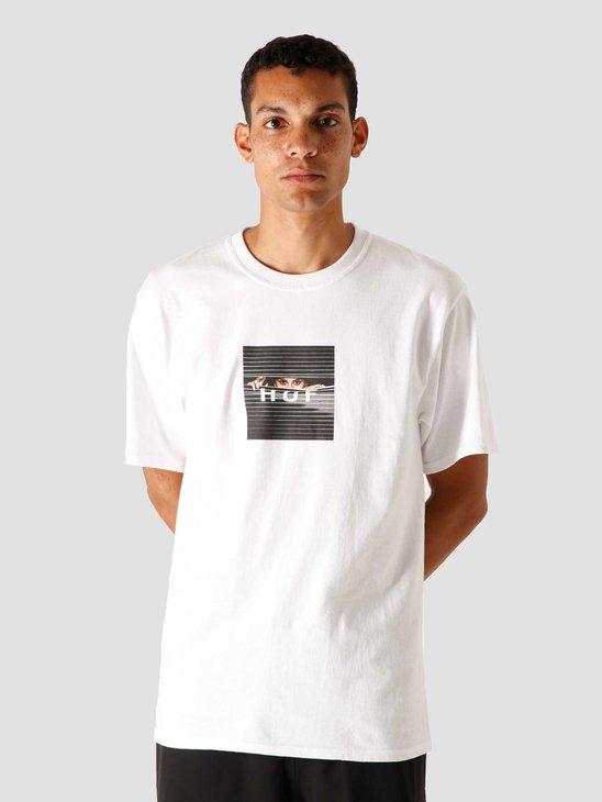 HUF Voyeur Logo T-Shirt White TS01175-WHITE