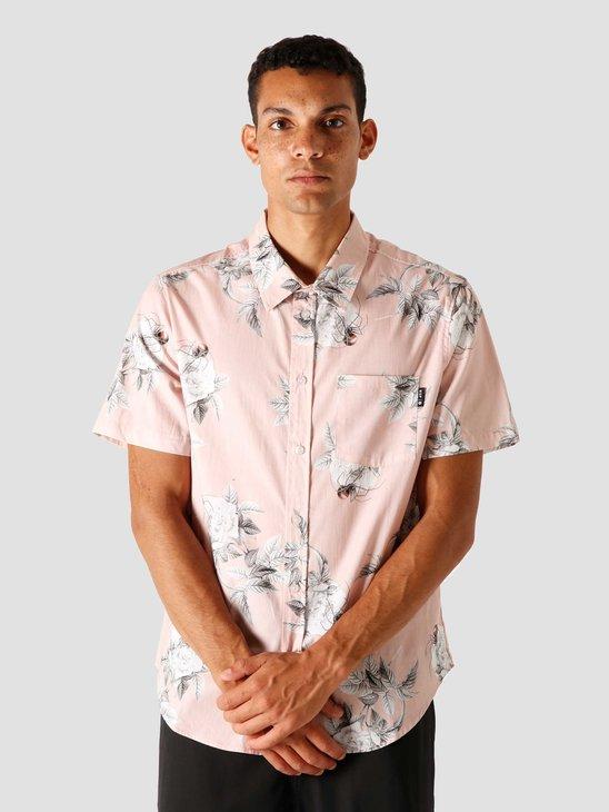 HUF Widower Shortsleeve Woven Shirt, Plastic Pink BU00079-PLPNK