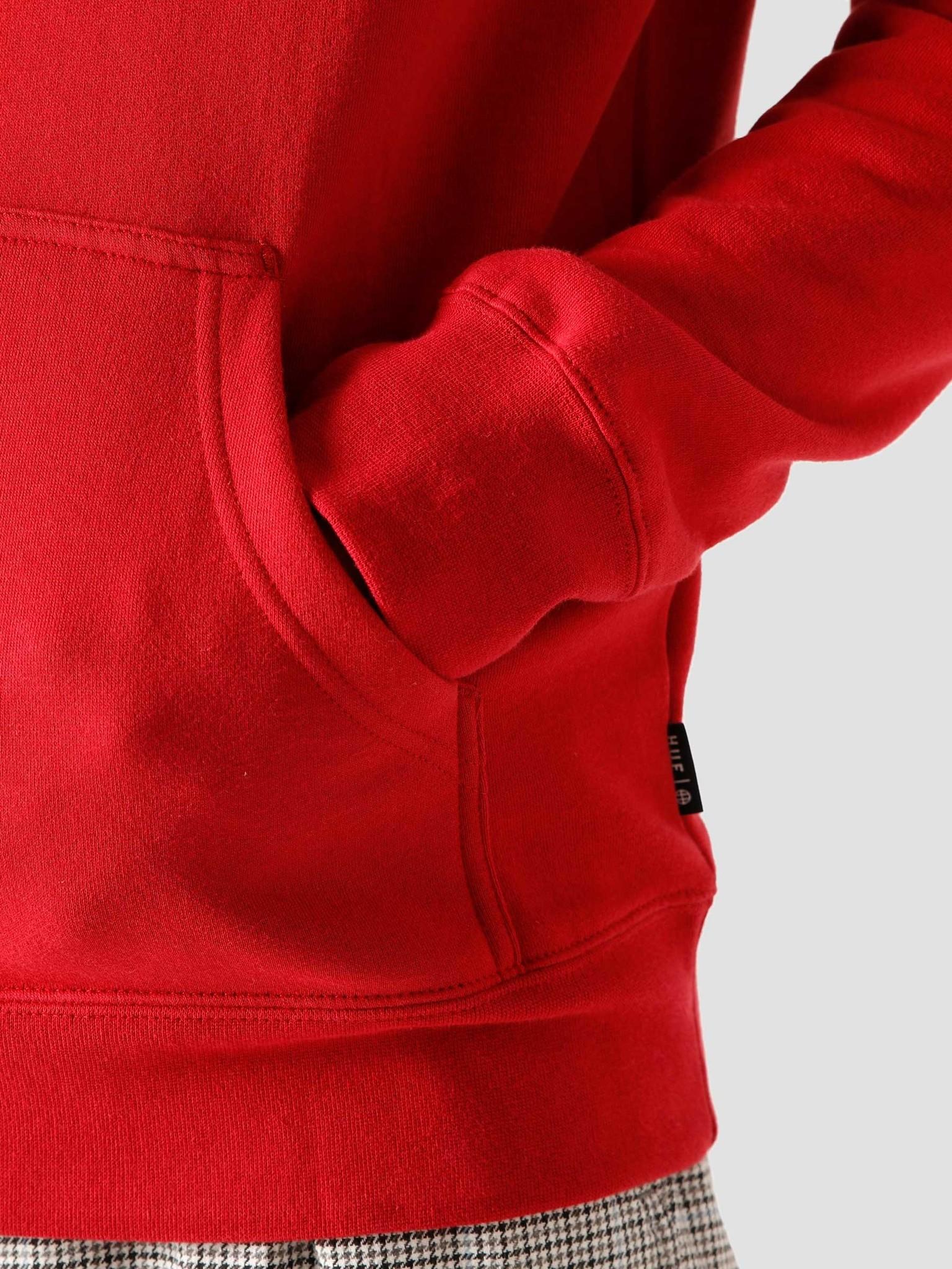 HUF Essentials TT Hoodie Rio Red PF00100 RIRED | FRESHCOTTON