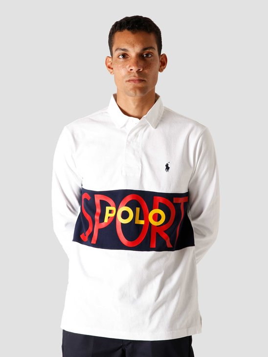 Polo Ralph Lauren Lt Wt Rustic Jersey Knitted Sweater White 710803562001