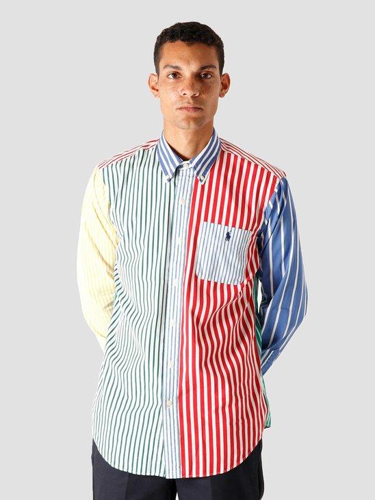 Polo Ralph Lauren Poplin Longsleeve Sport Shirt 4841 Fun Shirt 710799609001
