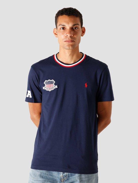 Polo Ralph Lauren 26-1'S Jersey T-Shirt Cruise Navy 710803518001