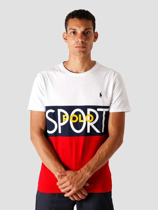Polo Ralph Lauren 26-1'S Jersey T-Shirt White 710803506002
